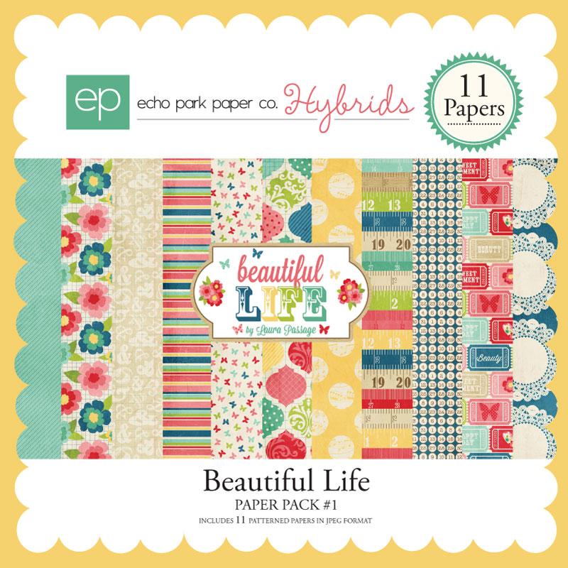 Beautiful Life Paper Pack #1
