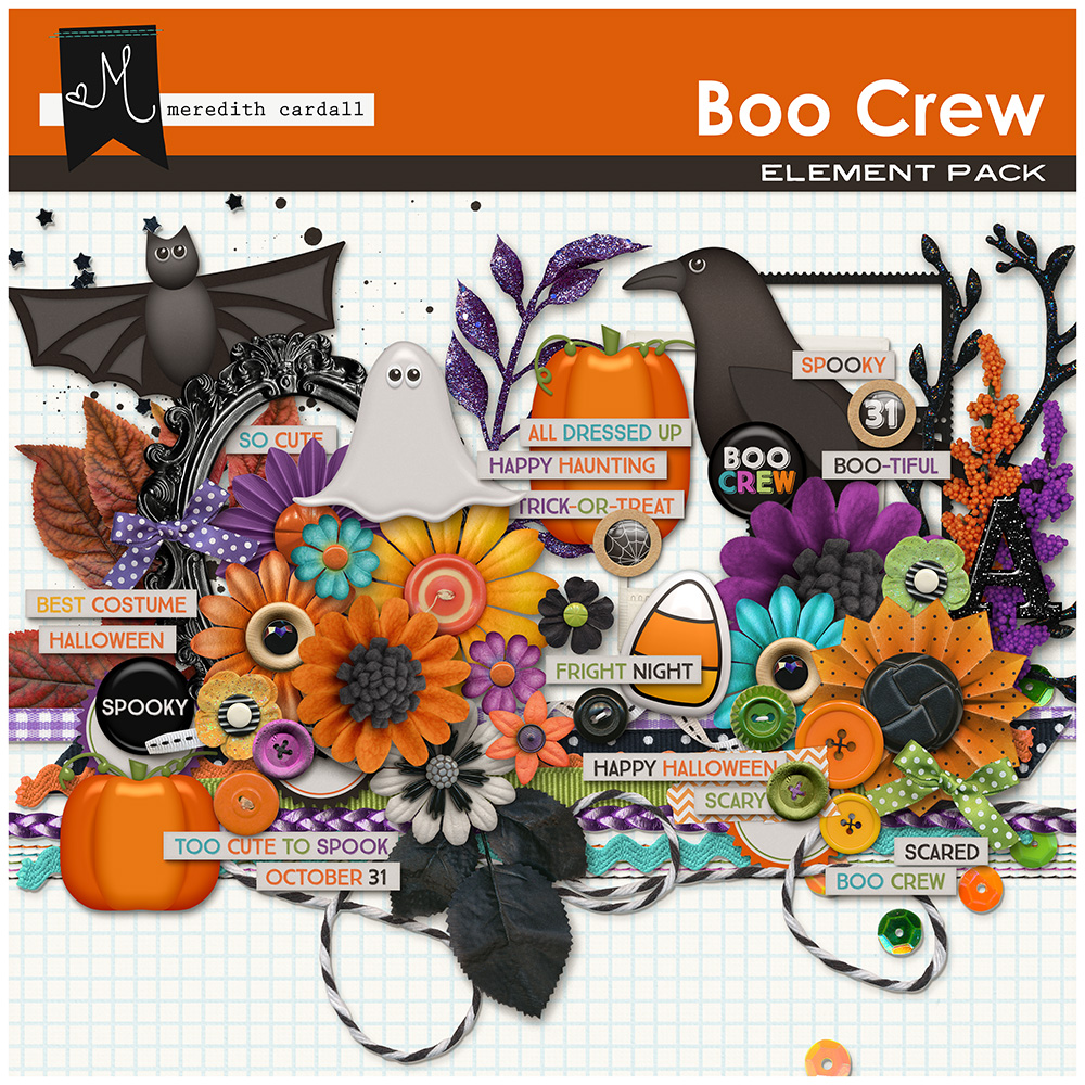 Boo Crew Element Pack
