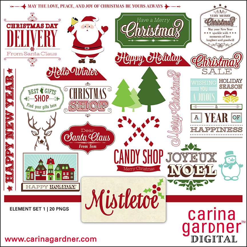Mistletoe - Element Pack