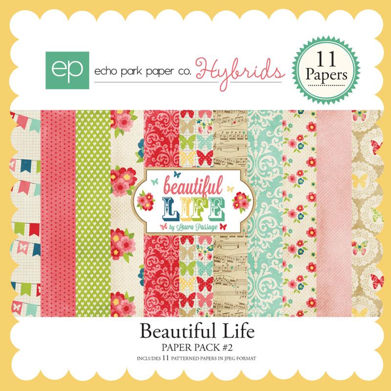 Beautiful Life Paper Pack #2