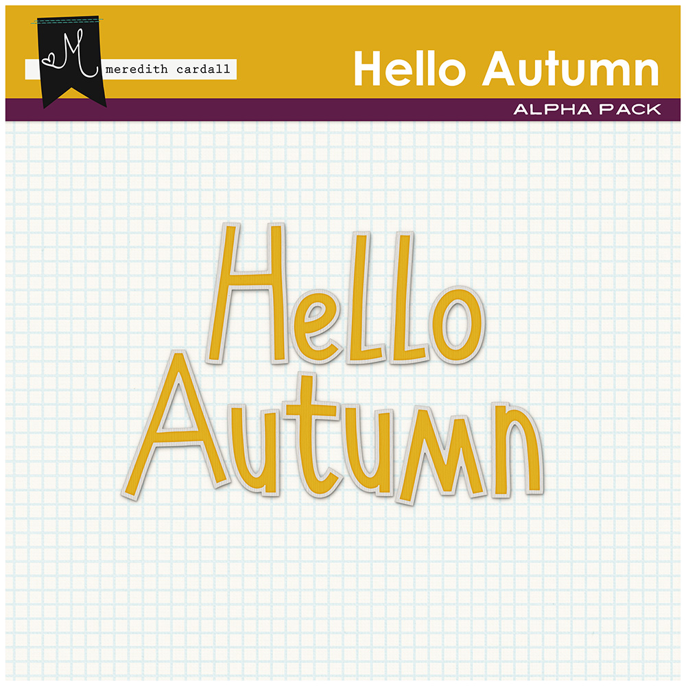 Hello Autumn Kit