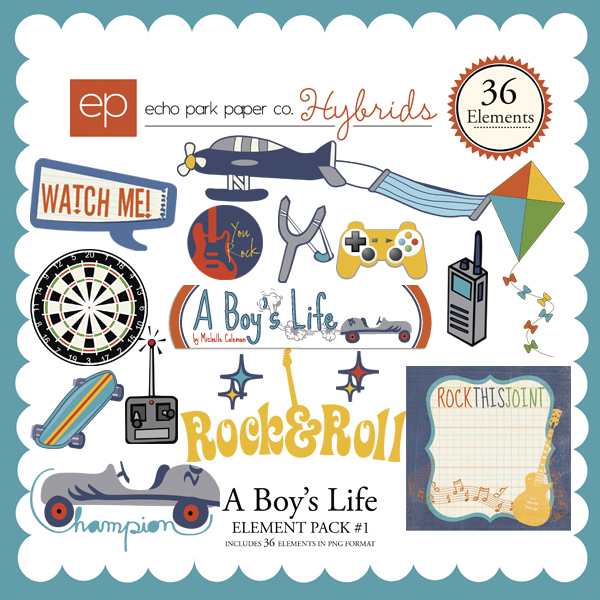 A Boy's Life Element Pack #1