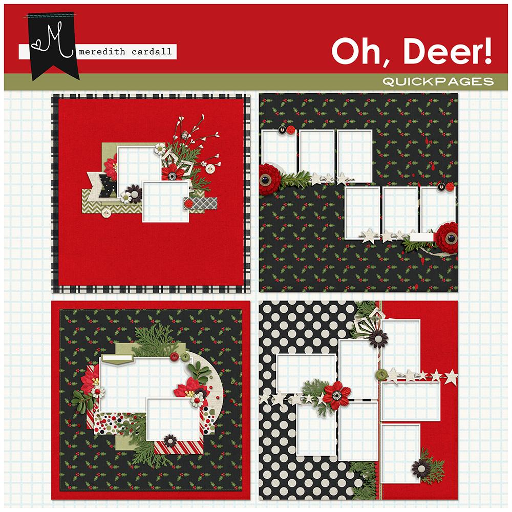 Oh, Deer! QuickPages