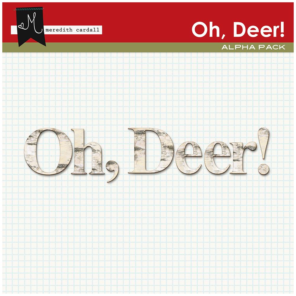 Oh, Deer! Alpha Pack