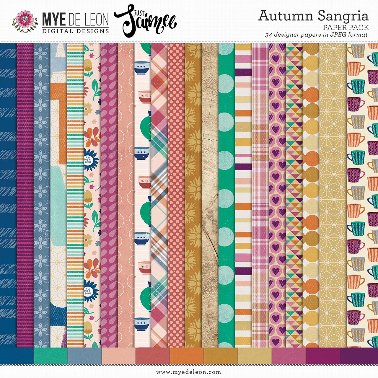 Autumn Sangria | Papers