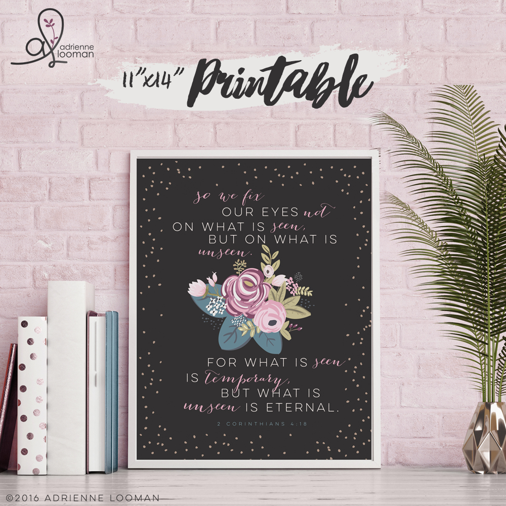 "11""x14"" Printable scripture design"