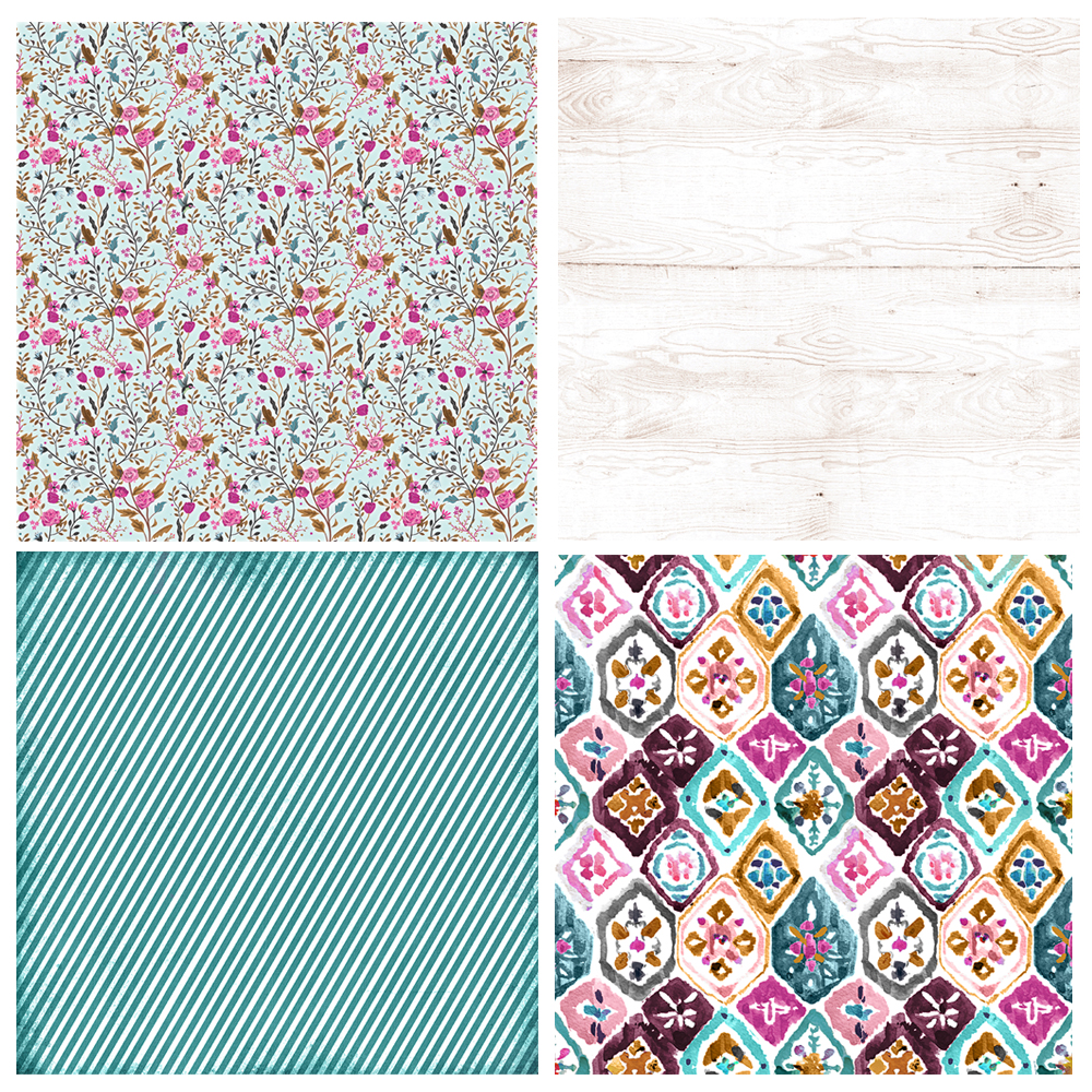 Boho Daydreams paper pack