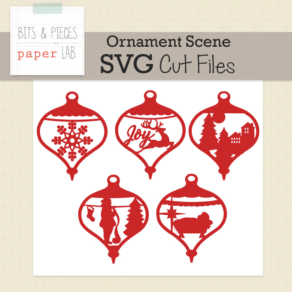 Ornament Scene Cut Files