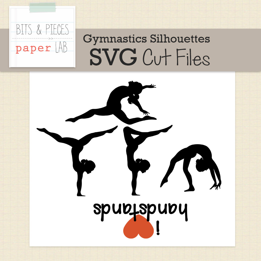 Gymnastics Silhouettes Cut Files