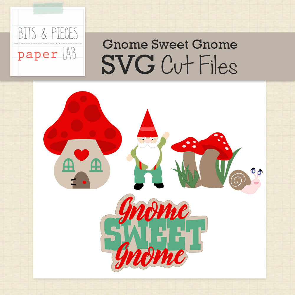 Christmas Gnome Svg.Gnome Sweet Gnome Cut Files