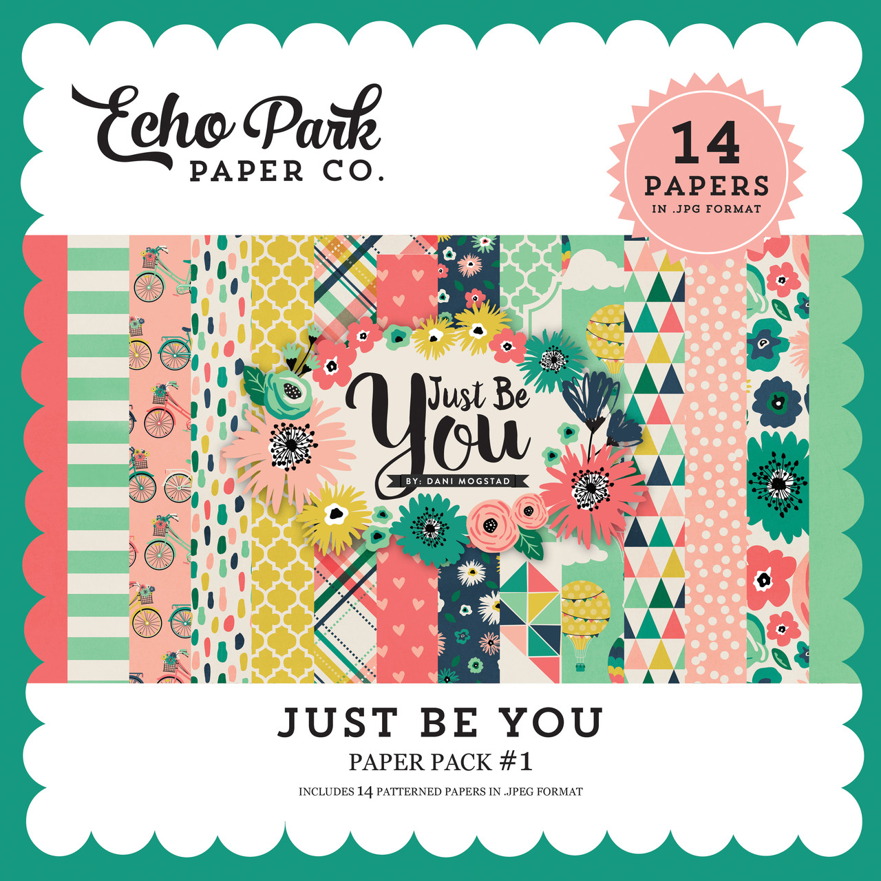 Just Be You Paper Pack #1