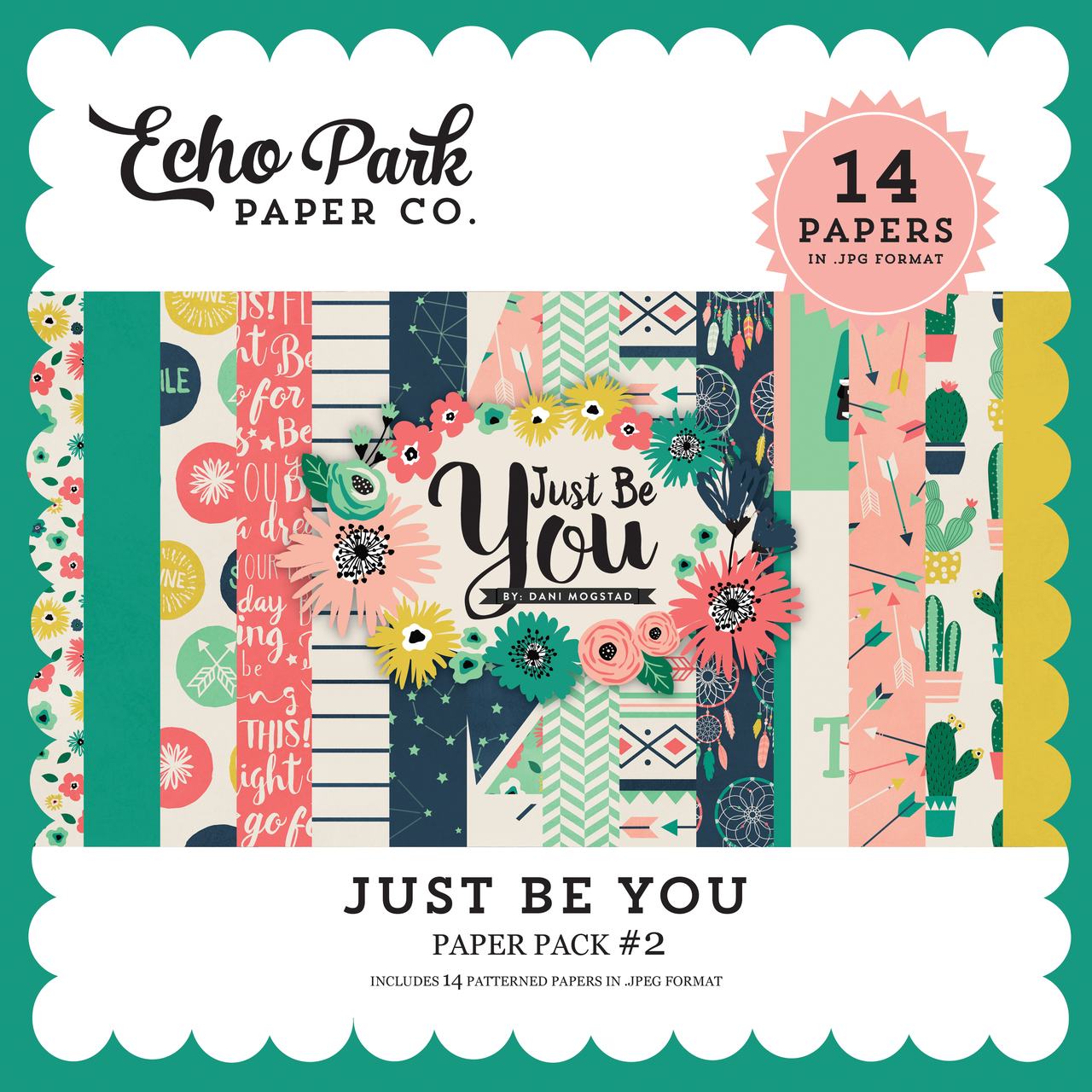 Just Be You Paper Pack #2