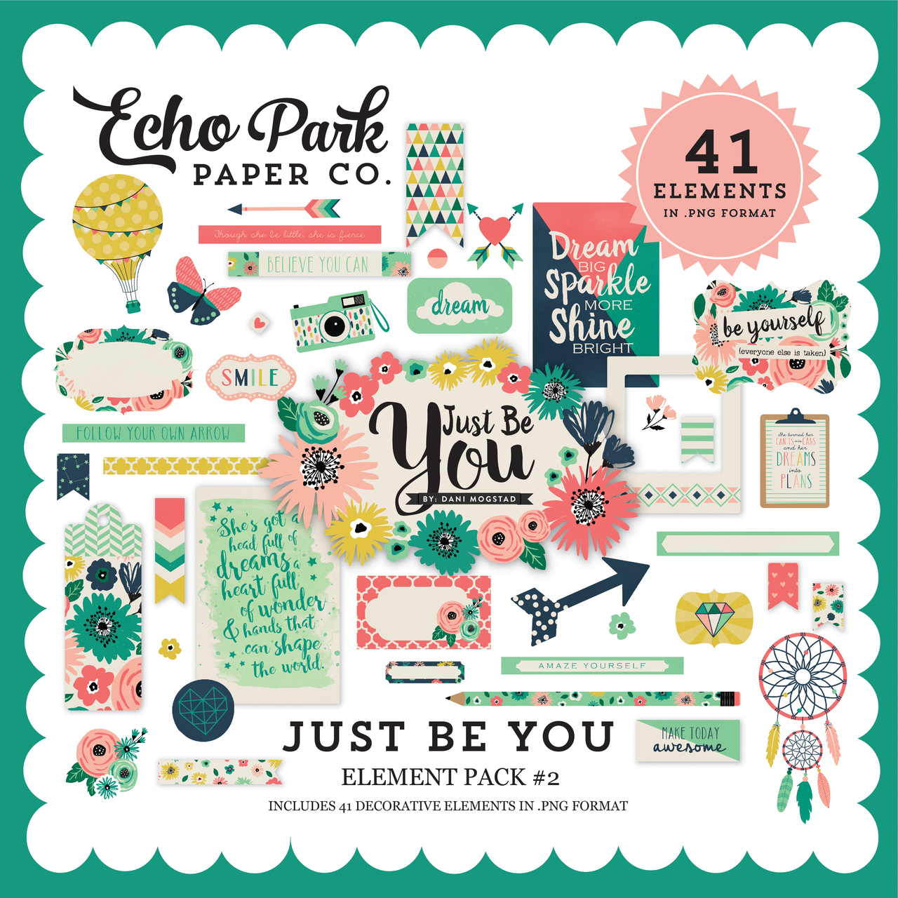 Just Be You Element Pack #2