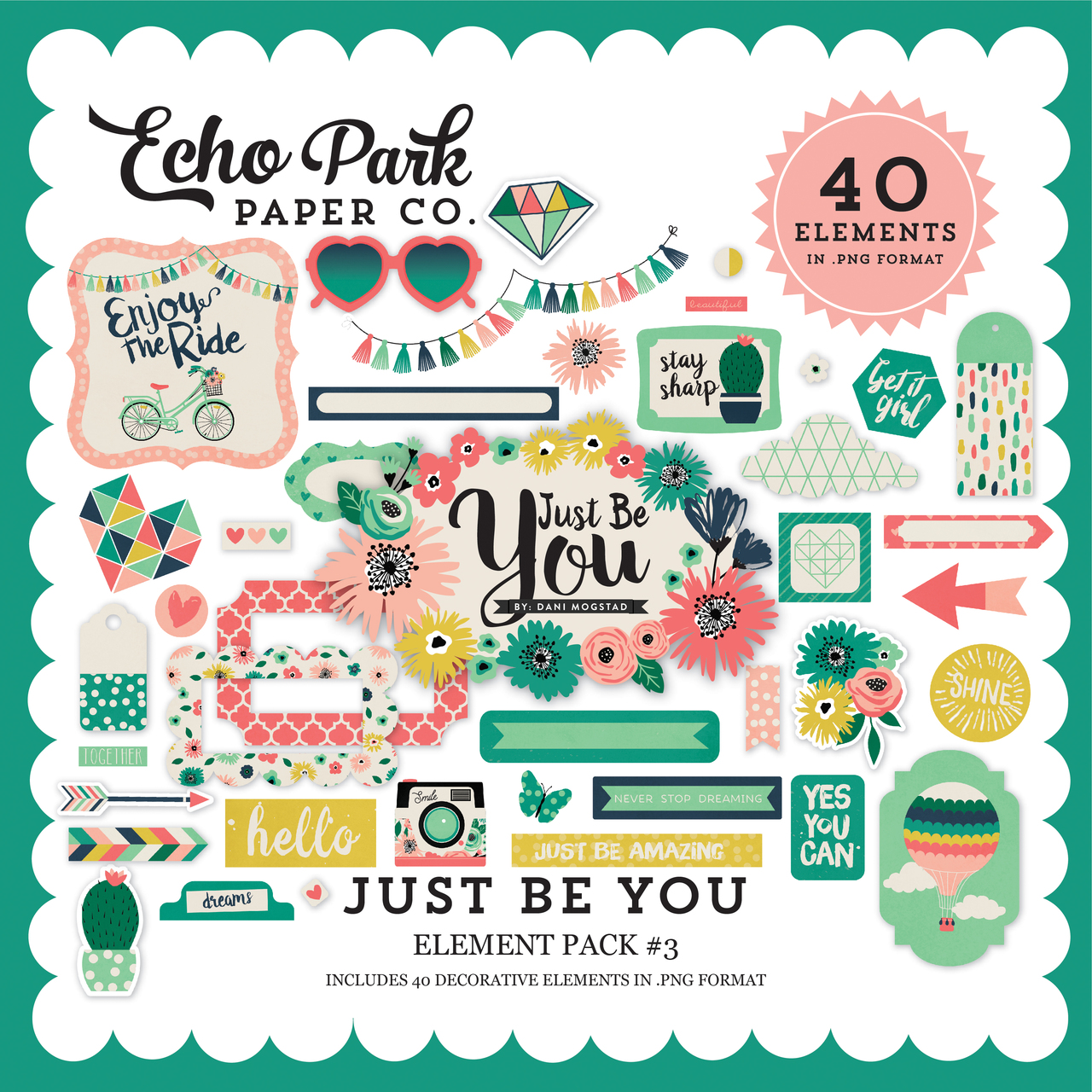 Just Be You Element Pack #3