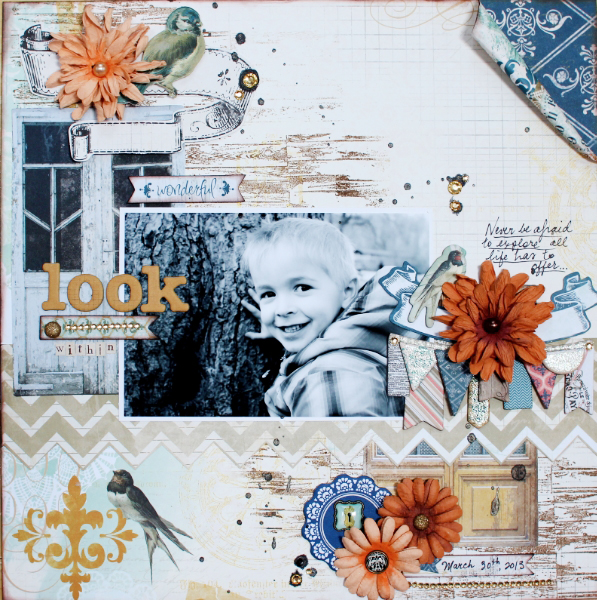 Layout by Illene Tell