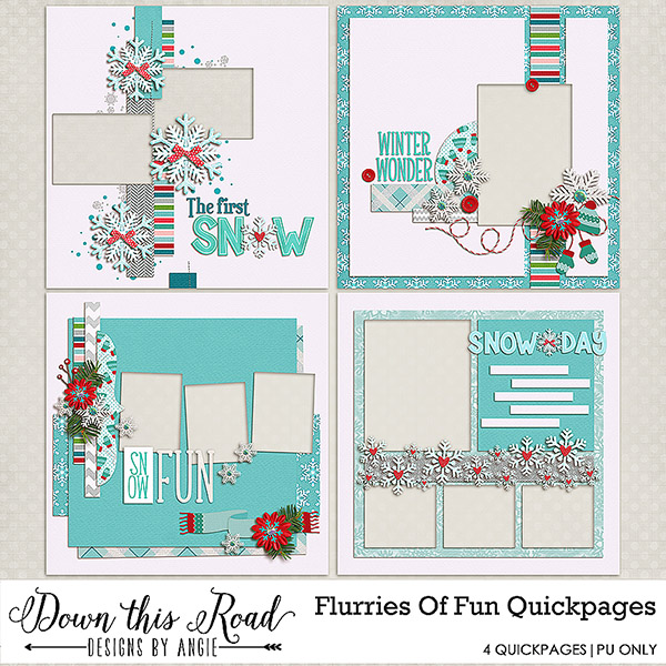 Flurries Of Fun Quickpages