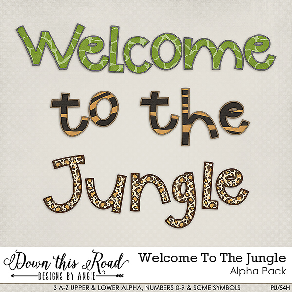 Welcome To The Jungle Collection