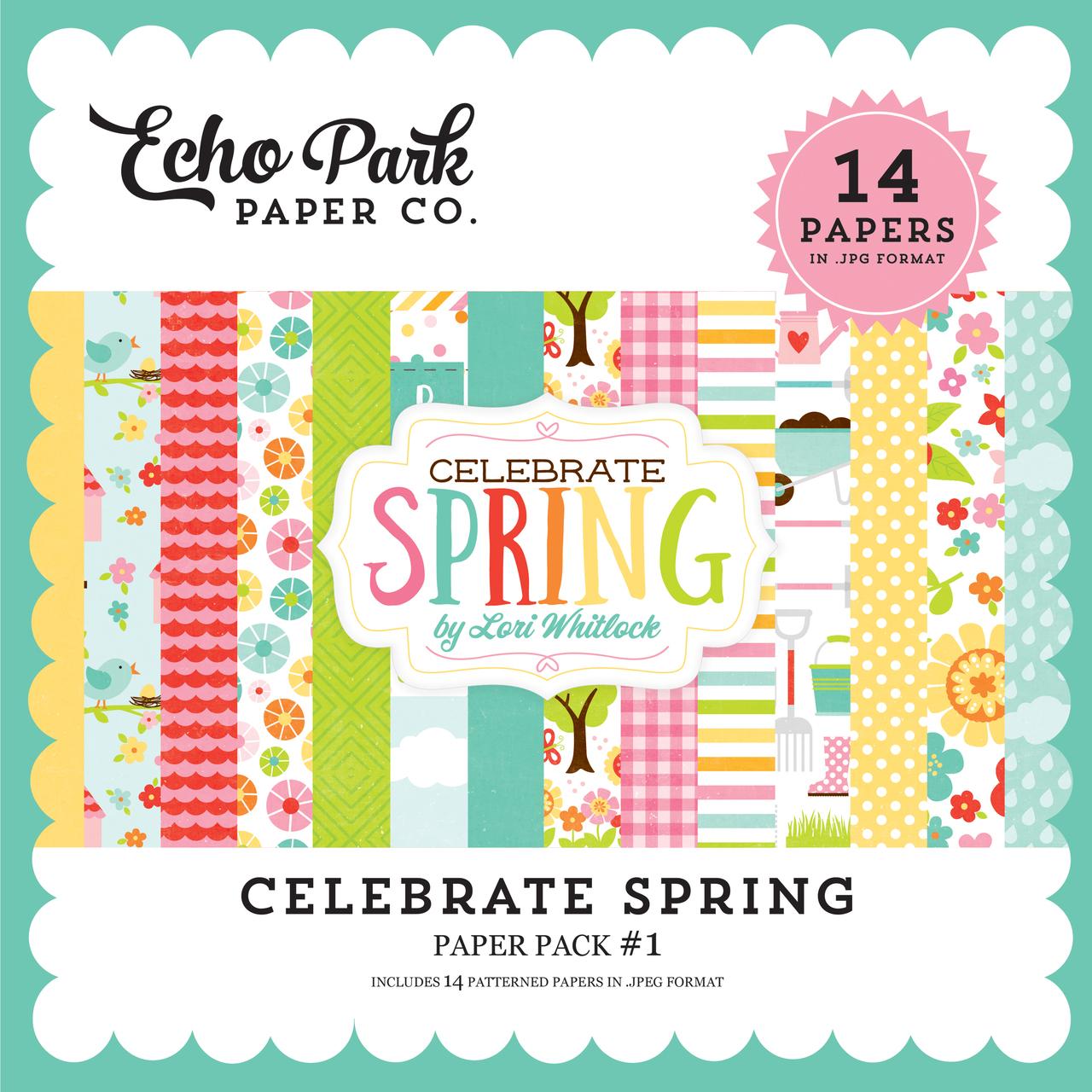 Celebrate Spring Paper Pack