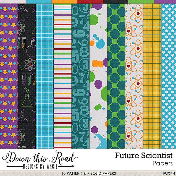 Future Scientist Paper Pack