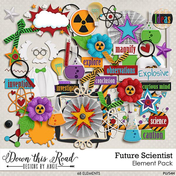 Future Scientist Element Pack