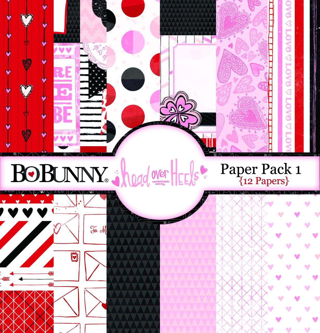 Head Over Heels Paper Pack 1