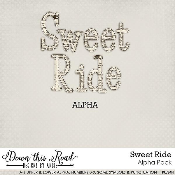 Sweet Ride Alpha Pack