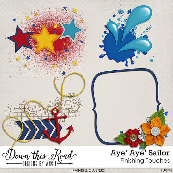 Aye' Aye' Sailor | Finishing Touches