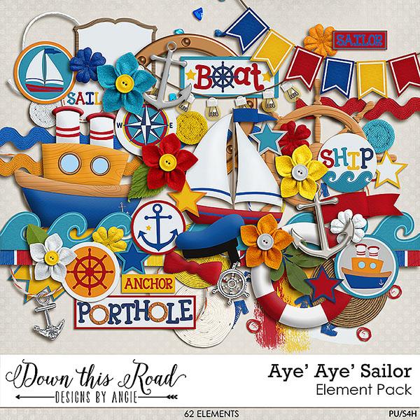 Aye' Aye' Sailor | Element Pack