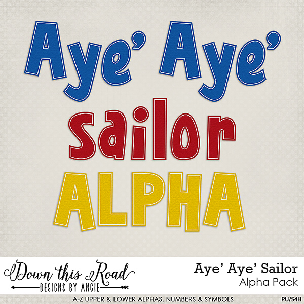 Aye' Aye' Sailor | Alpha Pack