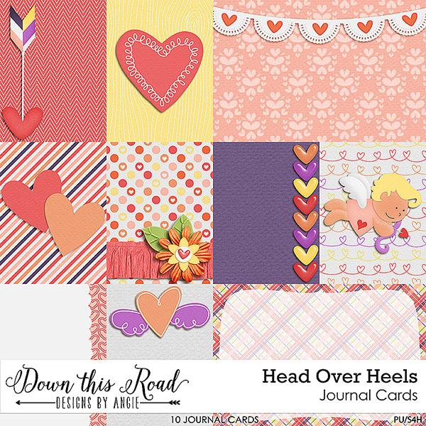 Head Over Heels Journal Cards