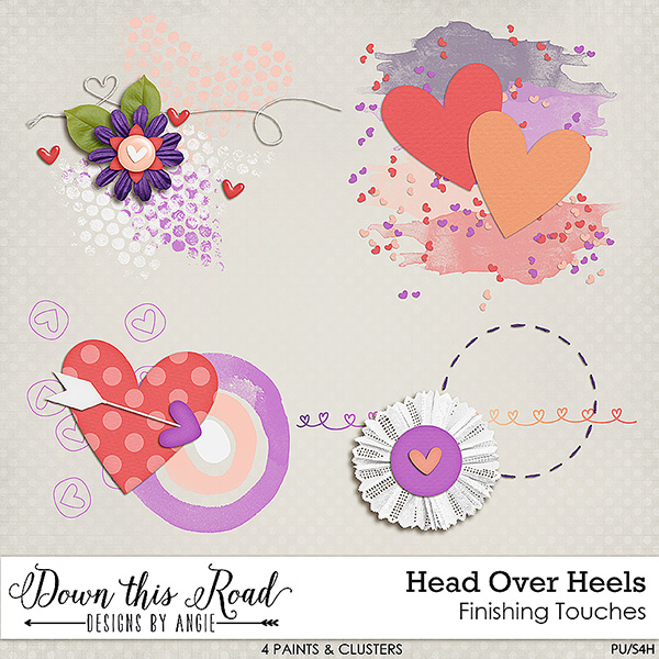 Head Over Heels Finishing Touches