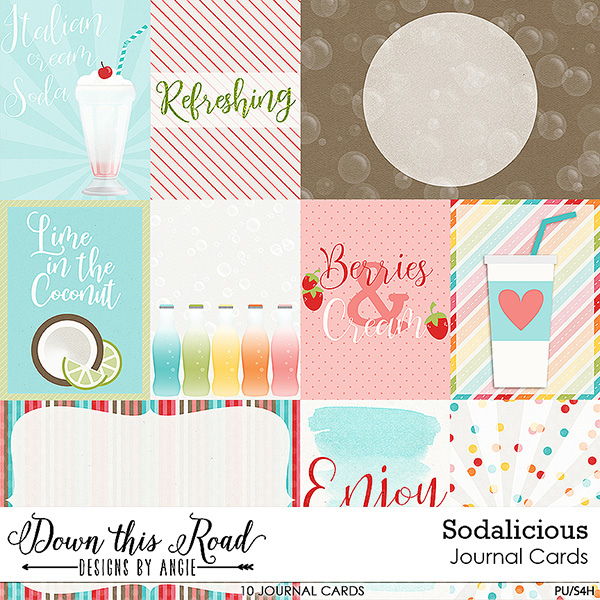 Sodalicious Journal Cards