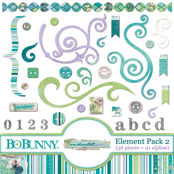 Enchanted Garden Element Pack 2
