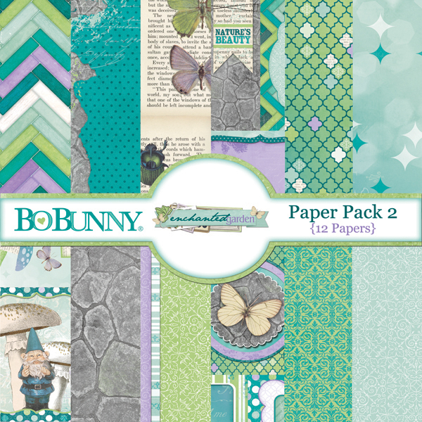 Enchanted Garden Paper Pack 2