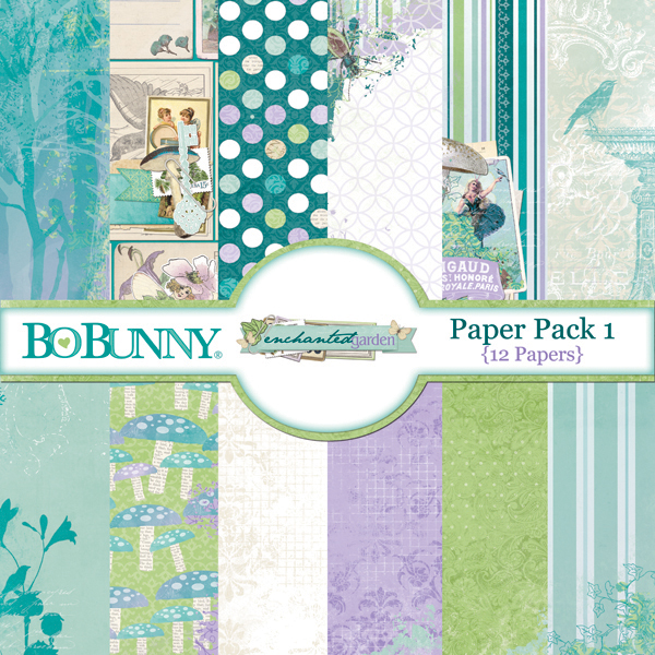 Enchanted Garden Paper Pack 1