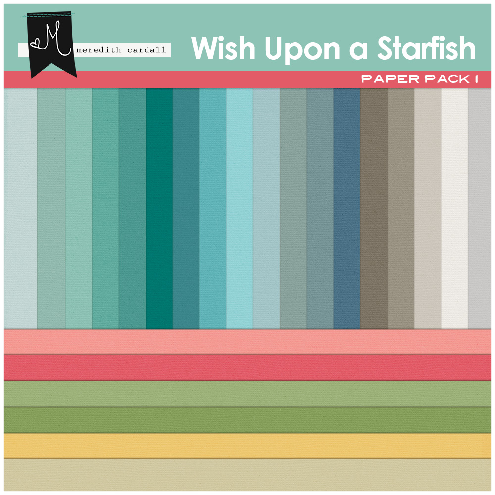 Wish Upon A Starfish Papers 1 Snap Click Supply Co