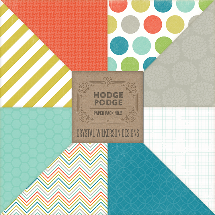 Hodge Podge - Paper Pack #2