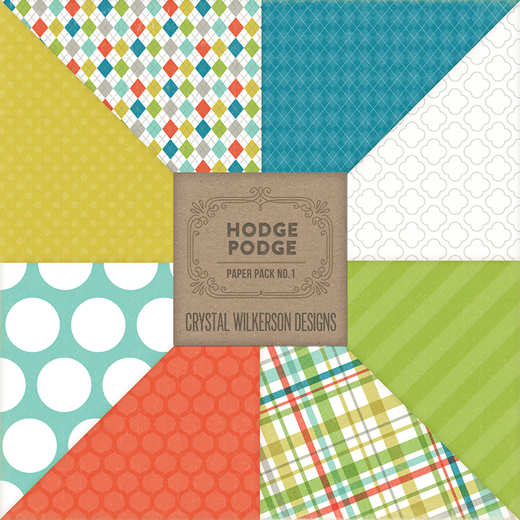Hodge Podge - Paper Pack #1