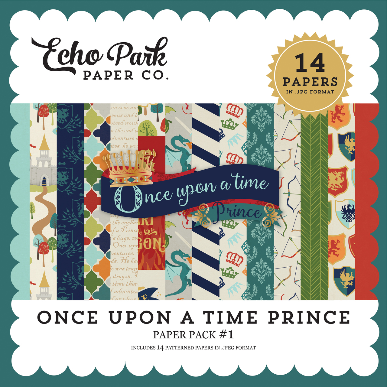 Once Upon a Time Prince Paper Pack #1