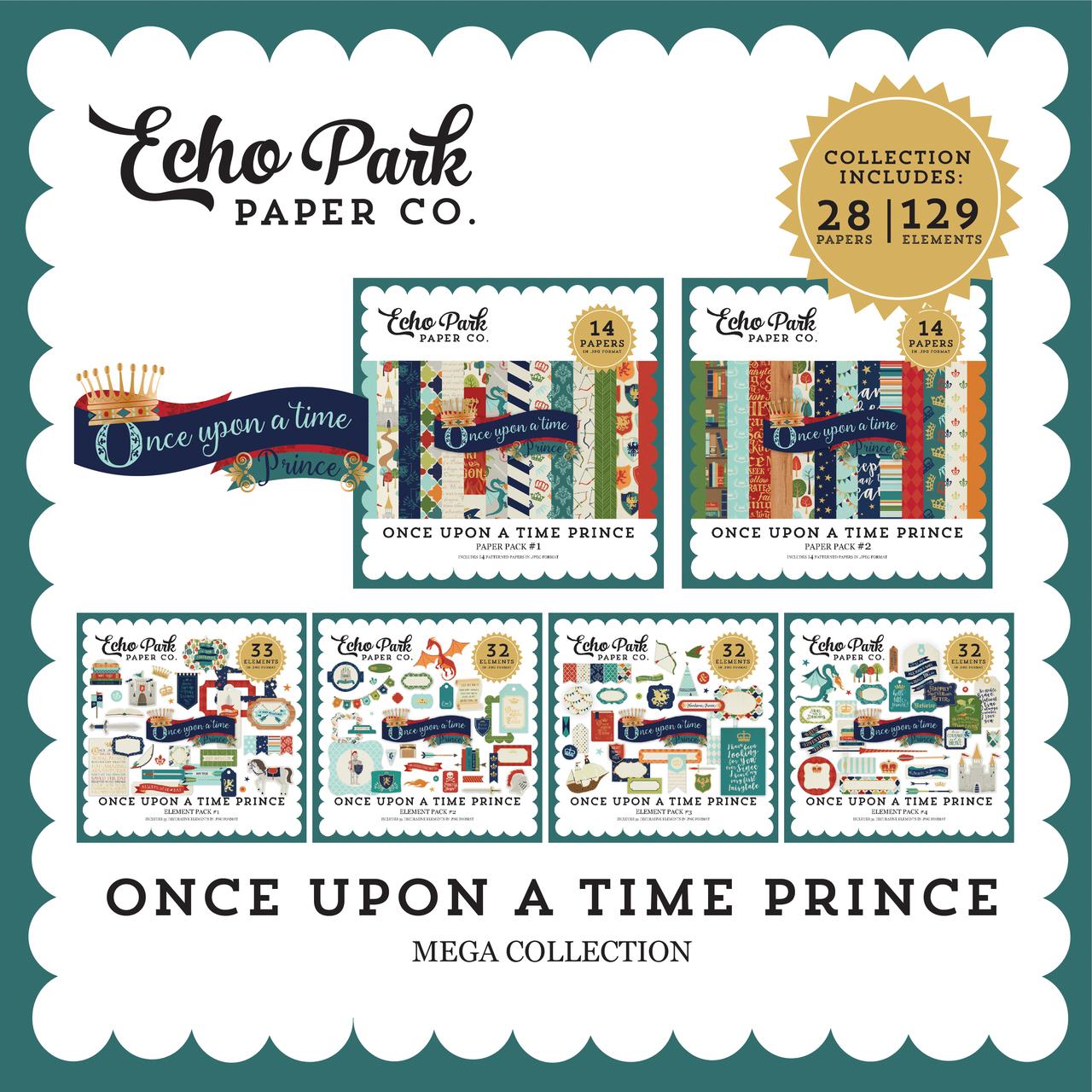Once Upon a Time Prince Mega Collection