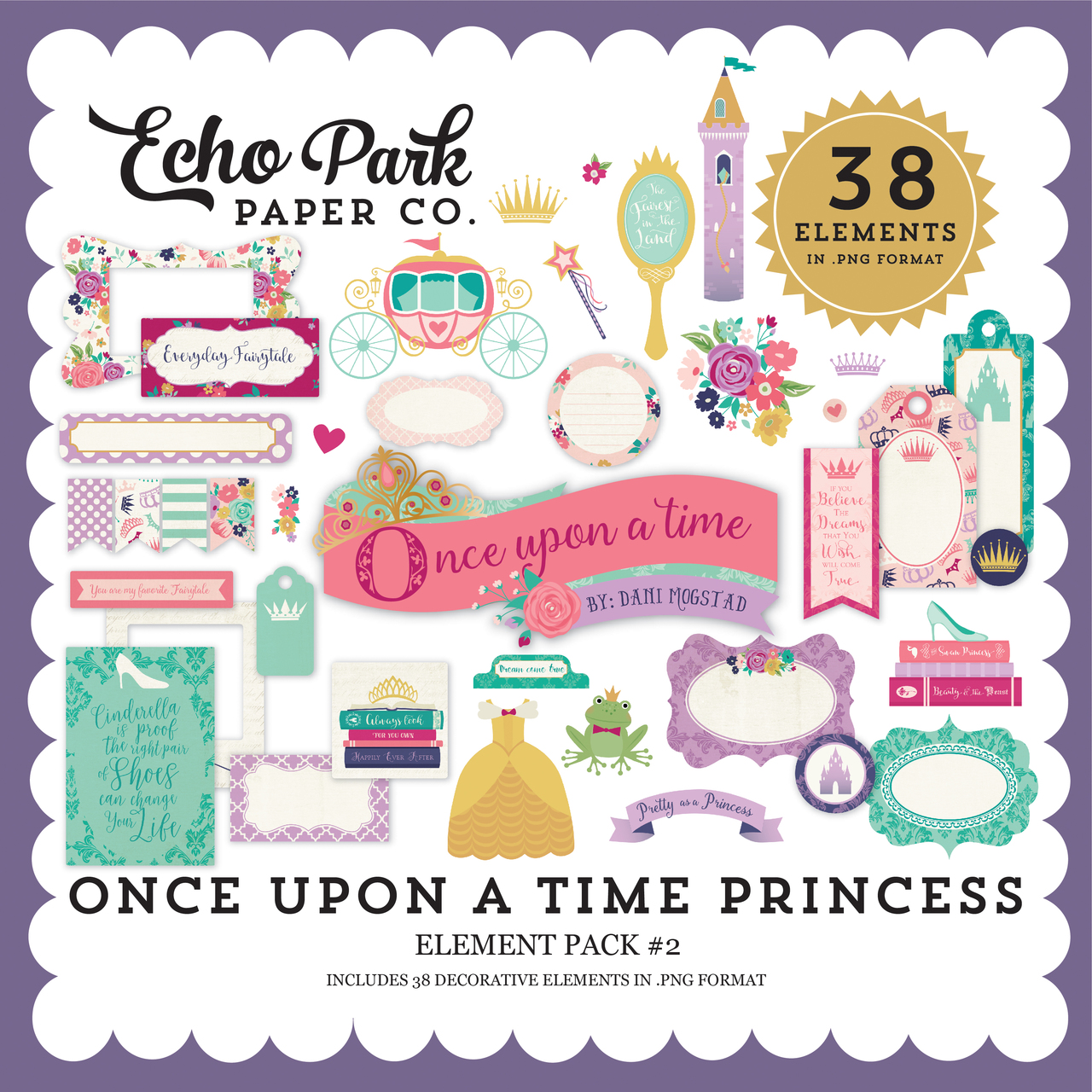 Once Upon a Time Princess Element Pack #2