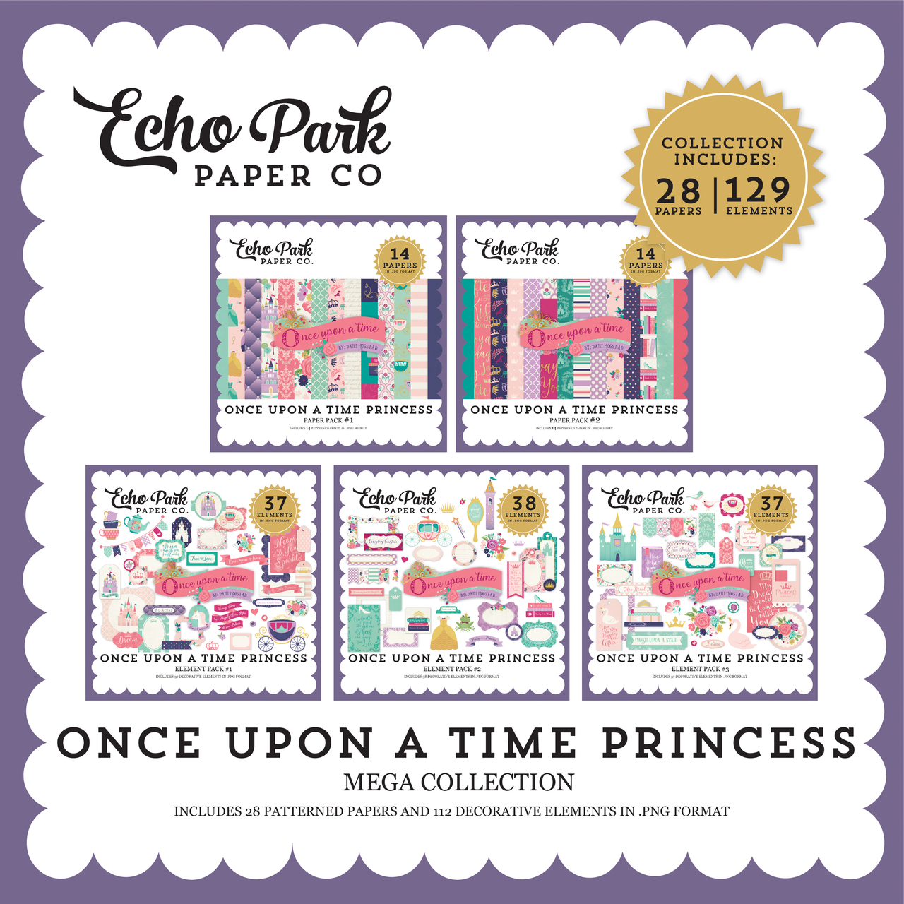 Once Upon a Time Princess Mega Collection