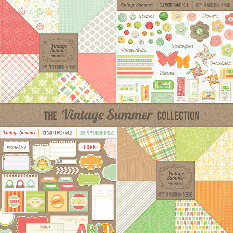 Vintage Summer - Full Collection
