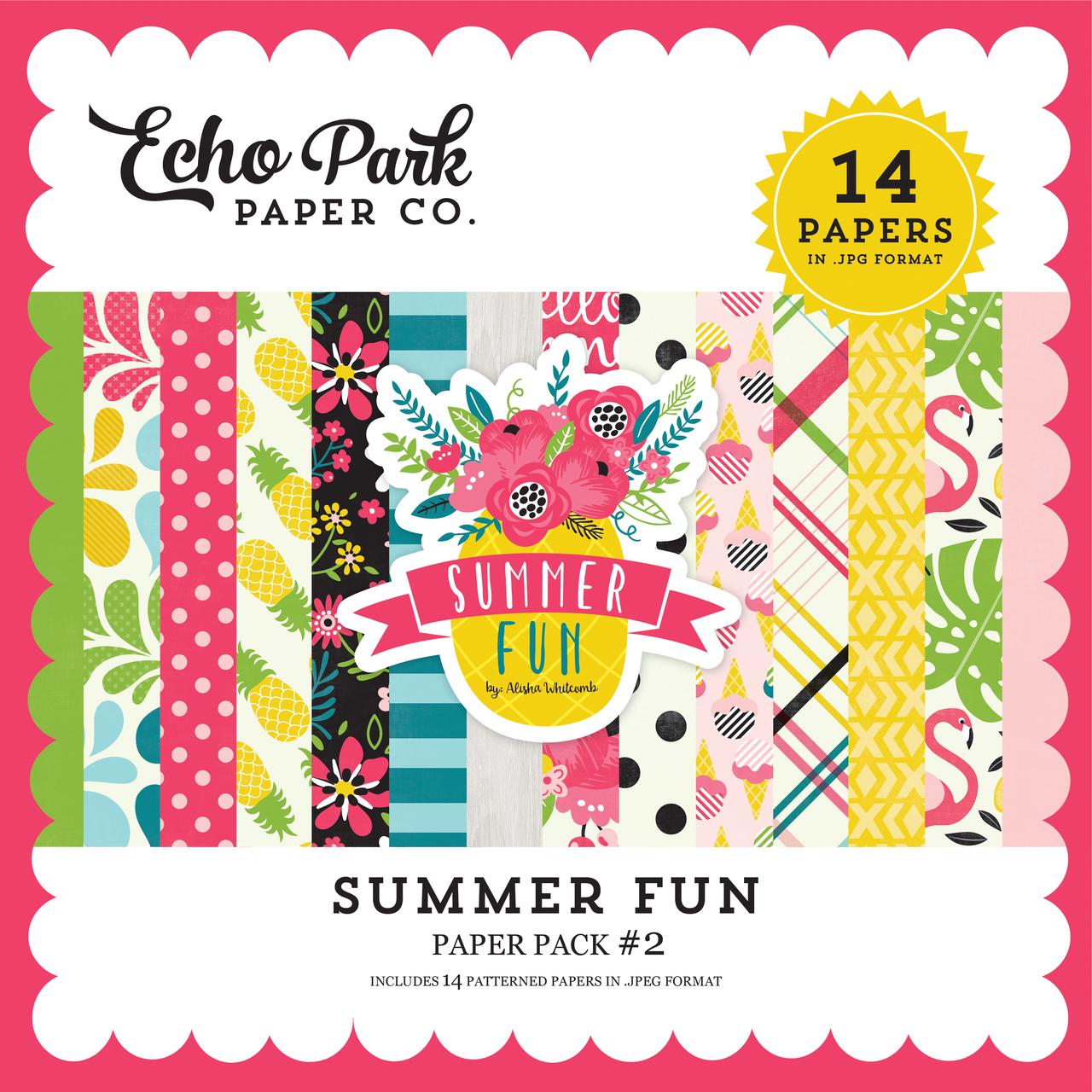 Summer Fun Paper Pack #2