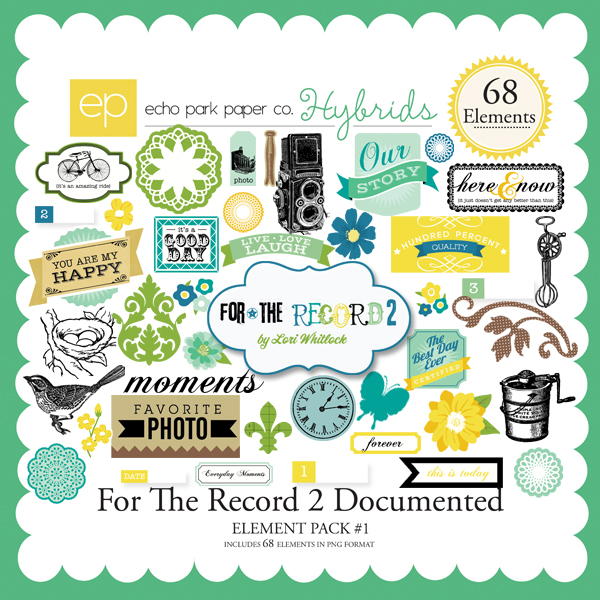 For The Record 2 Documented Element Pack #1