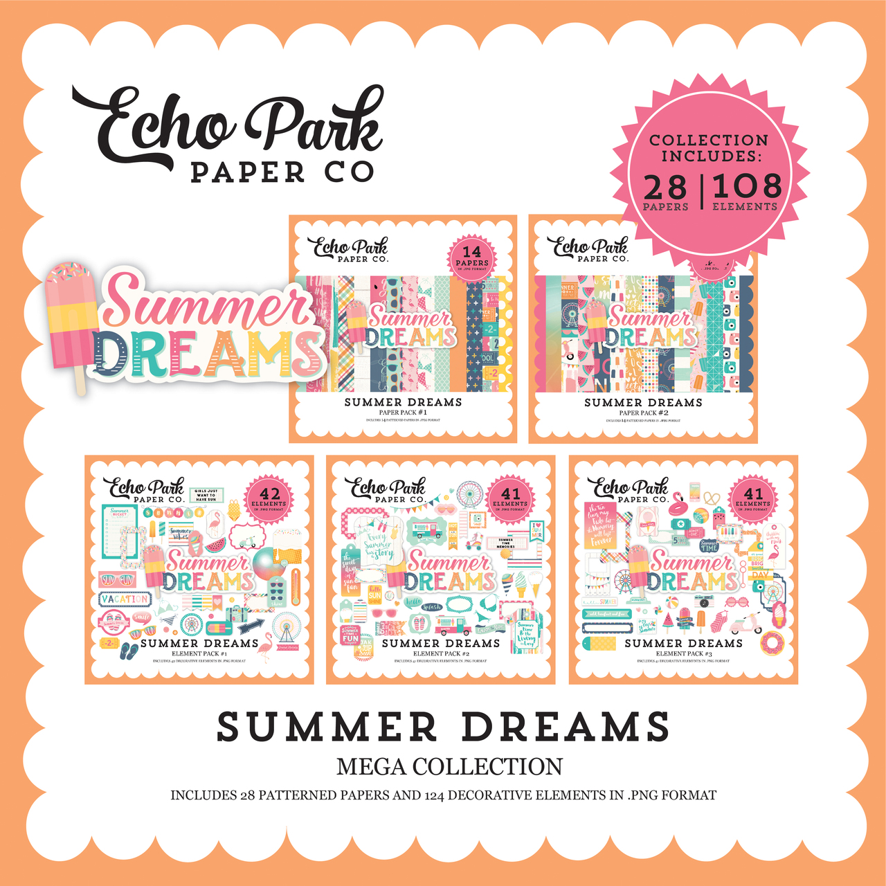 Summer Dreams Mega Collection