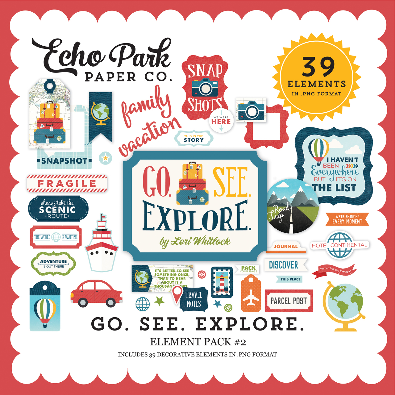 Go See Explore Element Pack #2