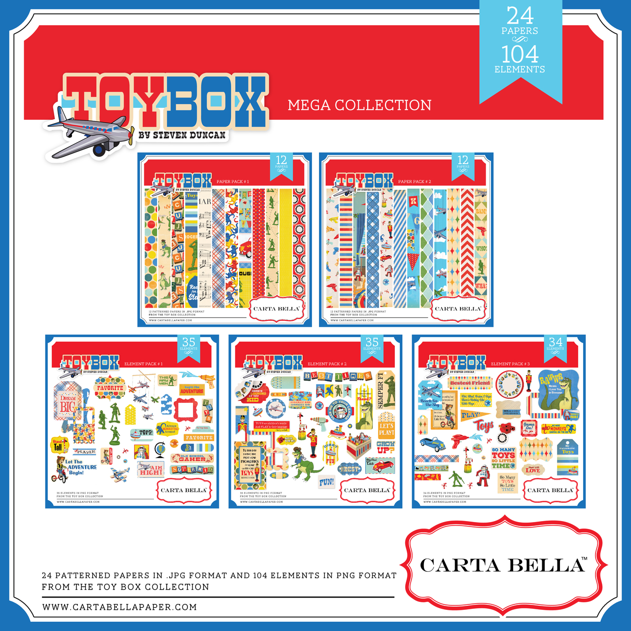 Toy Box Mega Collection