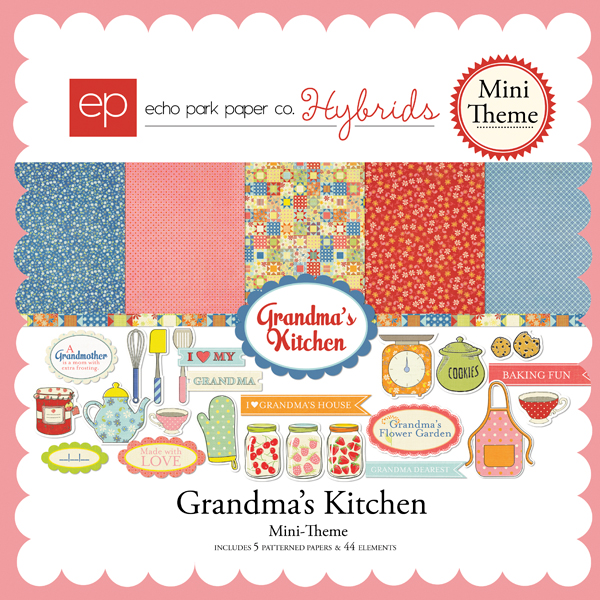Grandma's Kitchen Mini-Theme
