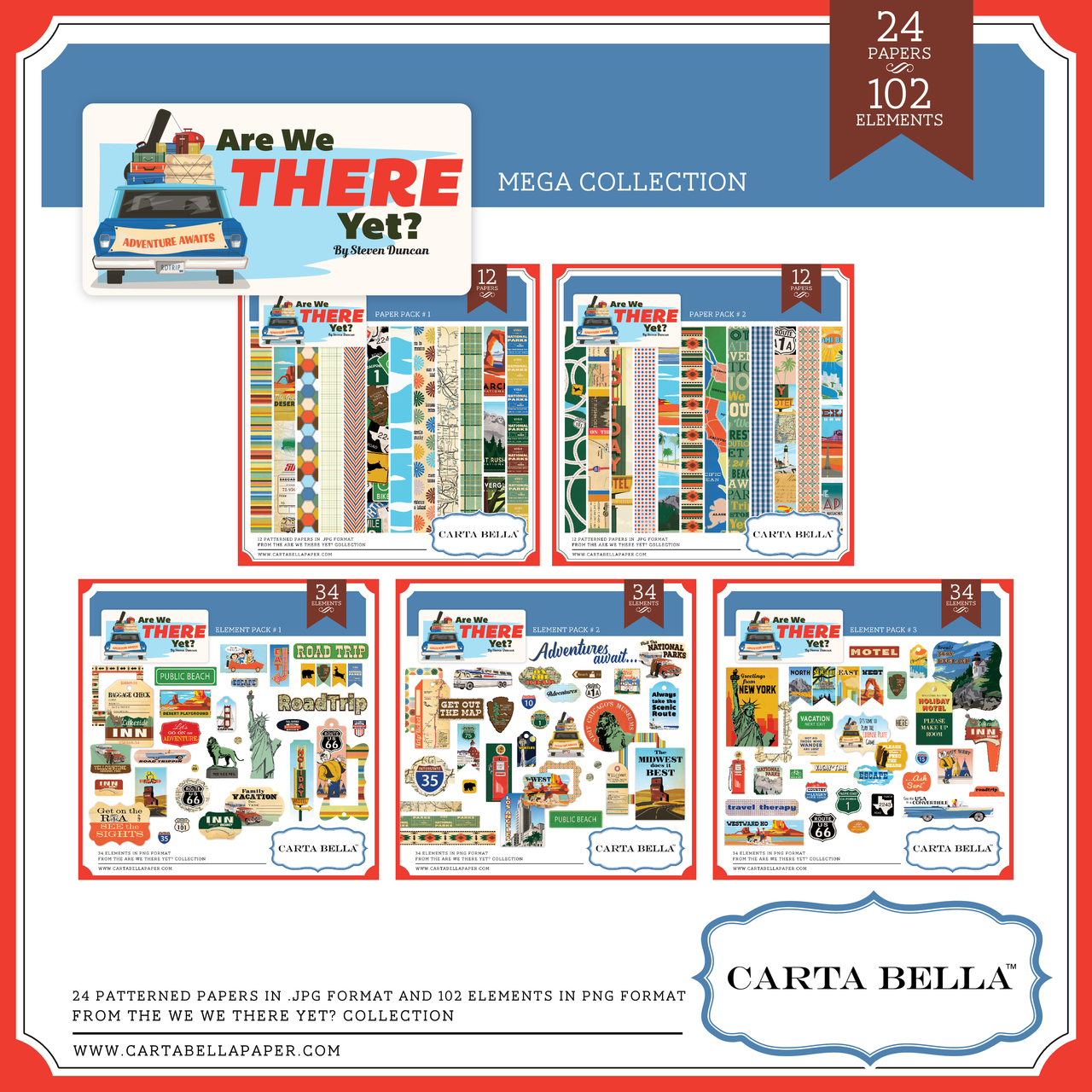 Are We There Yet? Mega Collection